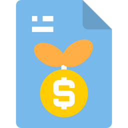 Growth File Icon