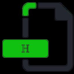 H Icon