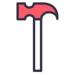 Hammer, Job, Service, Tool, Repair, Work, Build Icon