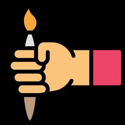 Hand brush Icon