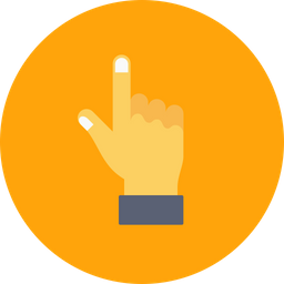 Hand Icon Of Flat Style Available In Svg Png Eps Ai Icon Fonts