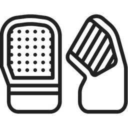 Hand Protector Line Icon