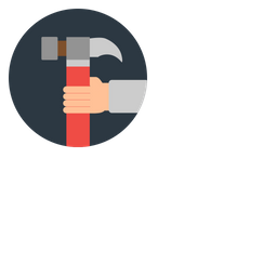 Hand, Setting, Manage, Work, Business Icon