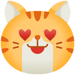 Heart Eyes Emoji Icon