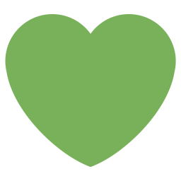 Heart, Like, Love, Green Icon png