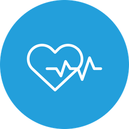 Heartbeat, Care, Love, Heart, Life, Save, Treatment Icon