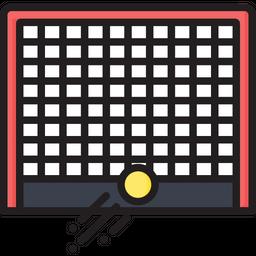 Hockey Goal Post Icon