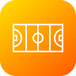 Hockey, Ground, Olympic, Sports, Game, Court, Goal Icon