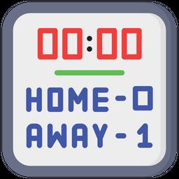 Hockey Scoreboard Icon