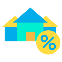 Home Percentage Icon