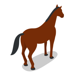 Horse Icon Of Flat Style Available In Svg Png Eps Ai Icon Fonts