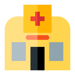 Hospital Icon Of Flat Style Available In Svg Png Eps Ai Icon Fonts