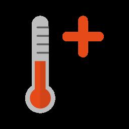 Hot, Heat, Stroke, Summer, Sun, Warm, Weather Icon