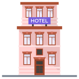 Hotel Icon Of Flat Style Available In Svg Png Eps Ai Icon Fonts