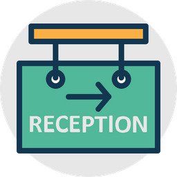Hotel Reception Icon Of Rounded Style Available In Svg Png Eps Ai Icon Fonts