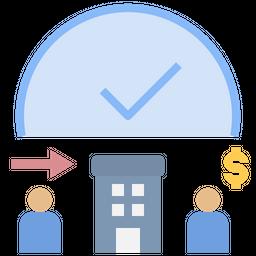 Hourly Salary Icon