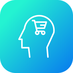 Human, Mind, User, Brain, Shop, Discount, Cart, Sale, Shopping, Ecommerce Icon png