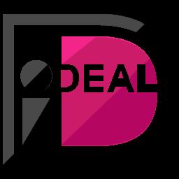 I deal Flat  Logo Icon