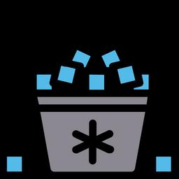 Ice bucket Icon