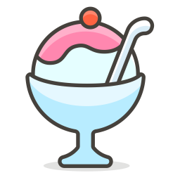 Icecream Emoji Icon