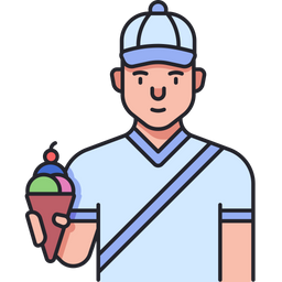 Icecream Seller Icon