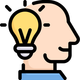 Mind Idea Icon Of Colored Outline Style Available In Svg Png Eps Ai Icon Fonts