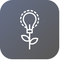 Idea, Innovation, Bulb, Invention, Startup, Boost Icon