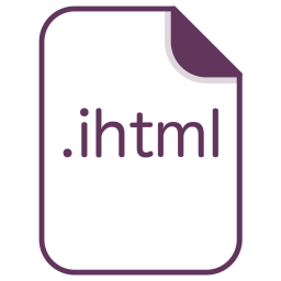 Ihtml, Online, File, Document, Extension, Filetype Icon