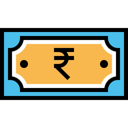 Indian, Currency, Rupee, Note, Payment, Money, Finance Icon png