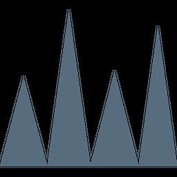 Infographic Glyph Icon