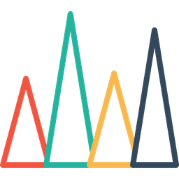 Infographic, Element, Statics, Chart, Company, Performance, Measure, Triangle Icon