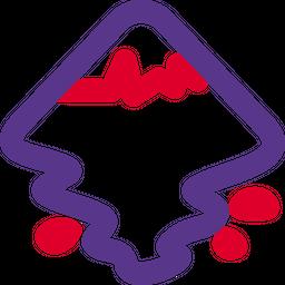 Inkscape Line  Logo Icon