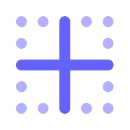 Inside-border Flat Icon