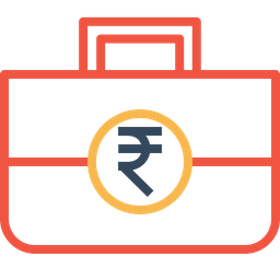 Investment, Budget, Indian, Rupee, Startup, Funding Icon