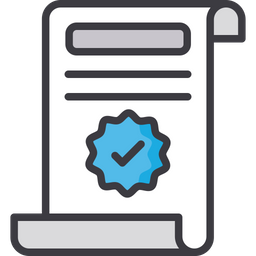 It verification Colored Outline Icon