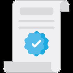 It verification Flat Icon