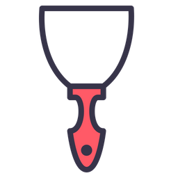 Job, Tool, Trowel, Build, Digging, Shovel Icon