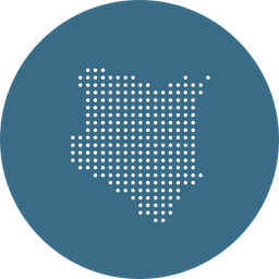 Kenya, African, Country, Map, Navigation, Location, Nation Icon