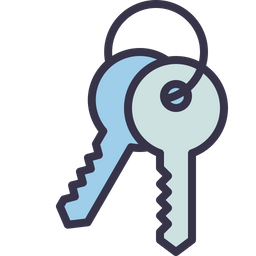 Key Icon Of Colored Outline Style Available In Svg Png Eps Ai Icon Fonts