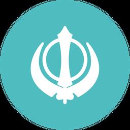 Khanda Flat Icon