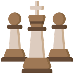 King with pawn Icon