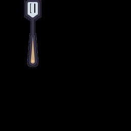 Kitchen, Spatula, Utensil, Tool, Cooking, Range Icon