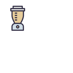 Kitchen Colored Outline Icon