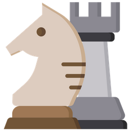 Knight and rook Icon