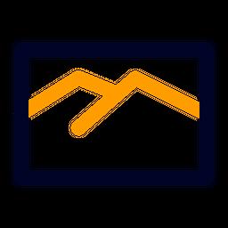 Landscape Line Icon