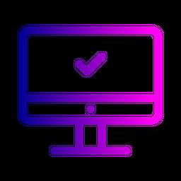 Laptop Line Icon