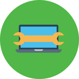 Laptop, Computer, Device, Setting, Manage, Preferences, Settings Icon