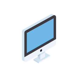 Free laptop, device, pc, computer, isometric, grid, 3d, view icon.