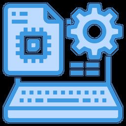 Laptop Processor Icon