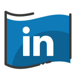 Linkedin Logo Icon Of Colored Outline Style Available In
